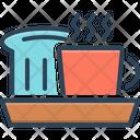 Breakfast Coffee Hot Icon