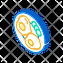 Breakfast Food Isometric Icon