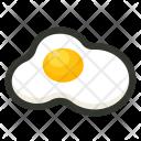 Breakfast Egg Fried Icon
