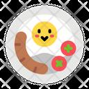 Breakfast Egg Full Icon