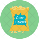 Breakfast Cereal Corn Icon