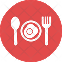 Food Bread Egg Icon