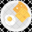 Breakfast Fry Egg Icon