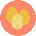 Breakfast Eggs Tray Icon