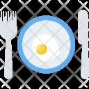 Breakfast Fried Egg Icon