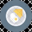 Breakfast Egg Toast Icon
