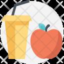 Apple Juice Beverage Icon