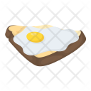 Egg Sandwich Fried Icon