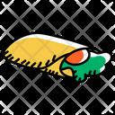Tortilla Breakfast Burrito Vegetable Burrito Icon