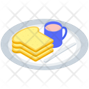 Breakfast Platter Vector Icon