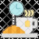 Breakfast Time Break Coffee Icon
