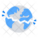 Breaking earth Icon