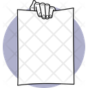 Breaking Paper Hand Activities Hand Moments Icon