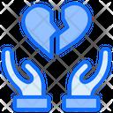 Breakup Broken Heart Icon
