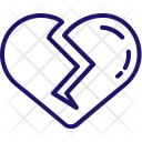 Breakup Break Romantic Icon