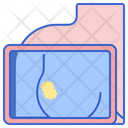 Breast Cancer Screening Breast Cancer Check Icon