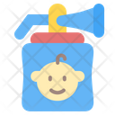 Breast Pump Breast Kid And Baby Icon