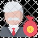 Bribe Judge Money Icon