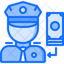 Bribe Penalty Money Icon