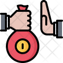 Bribe Bag Money Icon