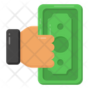 Giving Money Bribery Bet Icon