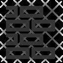 Brick Wall Development Icon