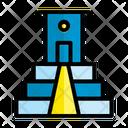 Brick Wall Construction Icon