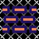 Brick Block Wall Icon