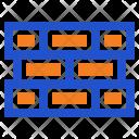 Brick Bricks Wall Icon