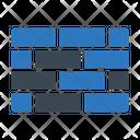 Wall Brick Construction Icon