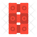 Brick Wall Build Icon