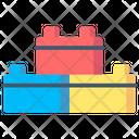 Brick Toys Kids Icon