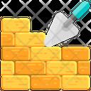 Brick Mansory Brickwall Icon