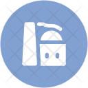 Brick Tower Factory Icon