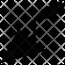 Brick trowel Icon