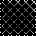 Brickwork Brick Wall Icon