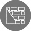 Wall Construction Brick Icon
