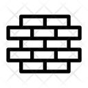 Brick Wall Defense Protection Icon