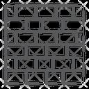 Bricks Brick Wall Bricklayer Icon