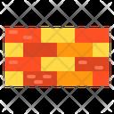Wall Block Brick Icon