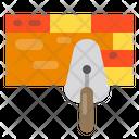 Brick Wall Repair Construction Icon