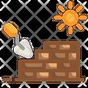 Brick Wall Ecology Energy Icon