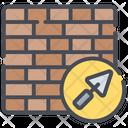 Brick Wall Wall Construction Icon
