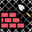 Brick Wall Repair Icon