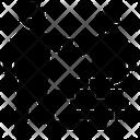 Masonry Builder Worker Icon