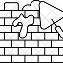 Bricklaying Brick Texture Bricklayer Icon