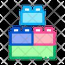 Construction Blocks Game Icon