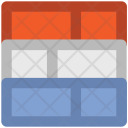 Bricks Wall Construction Icon