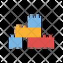 Bricks Toy Icon