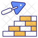 Bricks Wall Bricks Elementary Icon